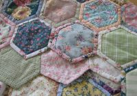 Unique quilt as you go hexagons patchwork quilts hand sewing 11 Modern Tips On Sewing Hexagon Quilts Gallery