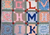 Unique quilt inspiration abcs of quilting alphabet quilts 11 Interesting Alphabet Quilt Block Patterns Gallery