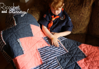 Unique ricochet and away the chevron rag quilt 9 Cool Chevron Rag Quilt Pattern Inspirations