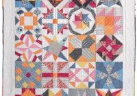 Unique sampler quilt from vintage quilt revival sampler quilts Cool Modern Vintage Quilts