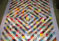 Unique scrappy triangle quilts quilting gallery Stylish Quilts With Triangles Inspirations