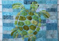 Unique sea turtle quilt sea turtle blanket custom turtle quilt sea turtles quilt sea turtle throw New Quilts With Turtles Inspirations