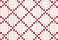 Unique single irish chain quilt patterns and blocks 11   Irish Chain Quilt Pattern Gallery