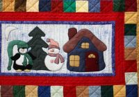 Unique snowman collector winter quilts snowman quilt christmas 10 Unique Snowman Quilt Patterns Applique