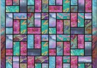 Unique stained glass batik quilt pattern digital 11 Stylish Stained Glass Quilting Patterns Inspirations