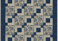 Unique stepping stones 3 yard quilt pattern 91528 11 Unique Stepping Stones Quilt Pattern