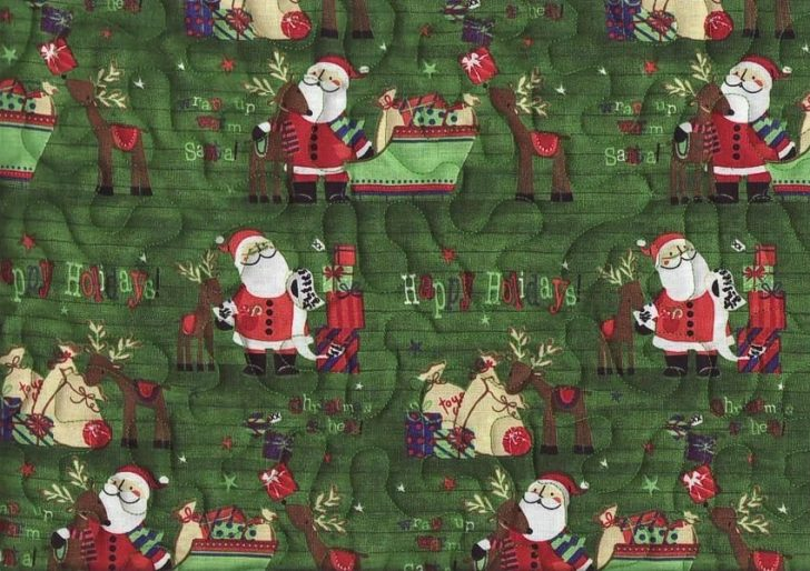 Permalink to Unique New Pre Quilted Christmas Fabric Gallery