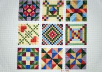 Unique sweet and delicious cross stitch cross stitch art cross 9 Unique Cross Stitch Quilt Block Patterns Gallery