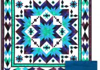 Unique taos monsoon aquas block of the month or all at once queen 11   Quilting Ideas For Taos Block Of The Month Inspirations