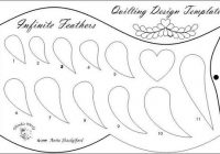 Unique tools and templates anita shackelford 9 Unique Feather Quilting Patterns Gallery