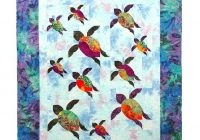 Unique turtle trails quilt pattern southwind designs New Quilts With Turtles Inspirations