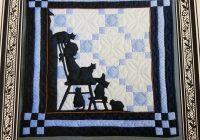 Unique vintage quilt pattern silhouette applique wall quilt pattern amity publications quilt pattern qp0169 11 Stylish Silhouette Quilt Patterns Inspirations