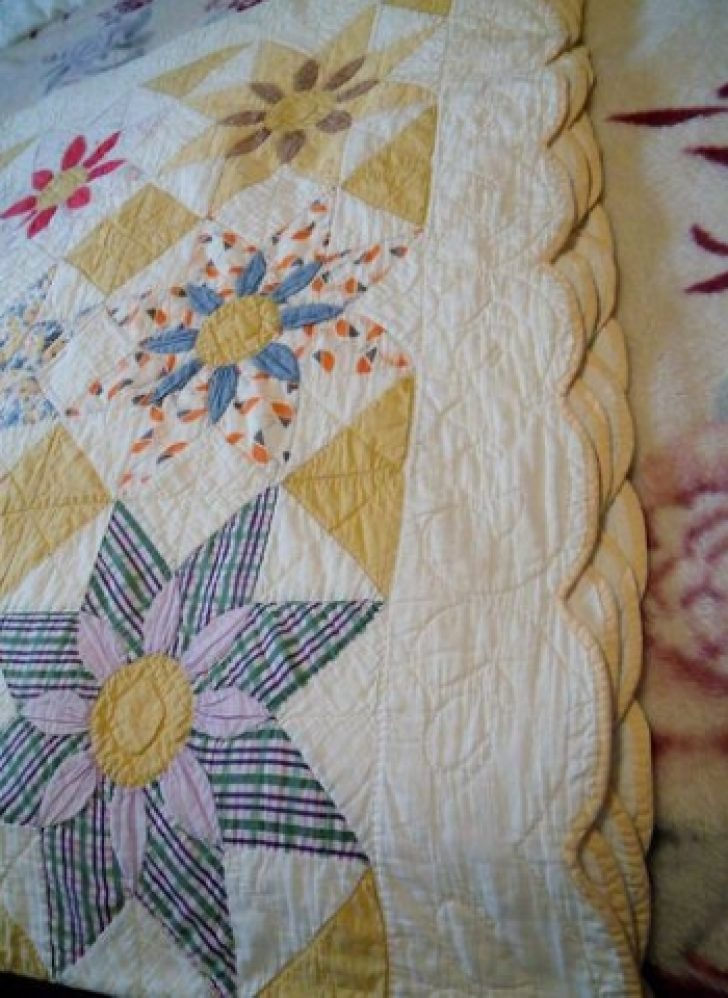 Permalink to 11 Unique Vintage Quilts On Ebay Gallery