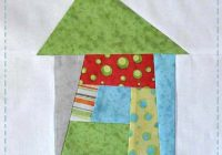 Unique wonky house quilt block tutorial jacquelynne steves 9 Unique House Quilt Block Patterns