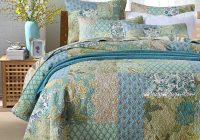 us 11513 28 offchausub vintage patchwork quilt set 3pcs cotton handmade quilted bedspread quilts bed cover pillowcase king size coverlet set in Cozy Vintage Quilted Bedspread Inspirations
