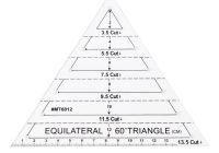 us 16 27 offhigh quality 60 degree equilateral for triangle quilting ruler template diy sewing craft tool apr 19 in sewing tools accessory from Triangle Template For Quilting