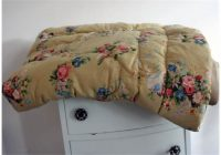 vintage 1950s or earlier feather eiderdownquilt measures Vintage Eiderdown Quilt Gallery