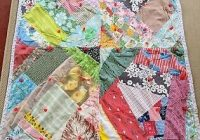 vintage 70s handmade patchwork quilt squares colorful one of a kind yarn tie ebay Elegant Vintage Patchwork Quilt Gallery