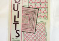 vintage aunt marthas quilting pattern book 14 patterns and borders Modern Ebay Vintage Quilts Inspirations