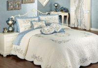 vintage charm embroidered quilted bedspread bedding closeout Cozy Vintage Quilted Bedspread Inspirations