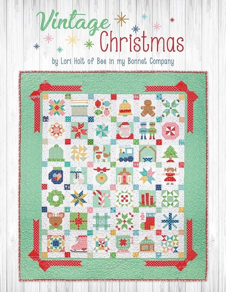 Permalink to Cozy Vintage Christmas Quilt