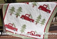 vintage christmas quilt pattern christmas christmas Cozy Vintage Christmas Quilt