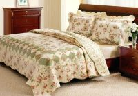 vintage comforter sets romantic tea rose quilt set country Interesting Vintage Quilt Sets Inspirations