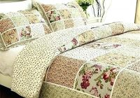 vintage floral bedding hattireco Interesting Vintage Quilt Sets Inspirations