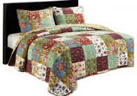 vintage garden queen quilt set Interesting Vintage Quilt Sets Inspirations