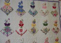 vintage hankie quilt Unique Vintage Hankie Quilt