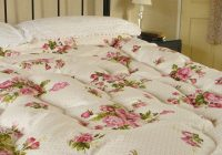 vintage inspired roses polka dots feather bed eiderdown Vintage Eiderdown Quilt Gallery