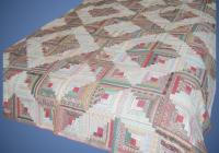 vintage log cabin patchwork quilt 1920 Elegant Vintage Patchwork Quilt Gallery