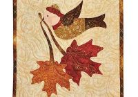 vintage november wall hanging pattern Unique Quilted Wall Hangings Patterns