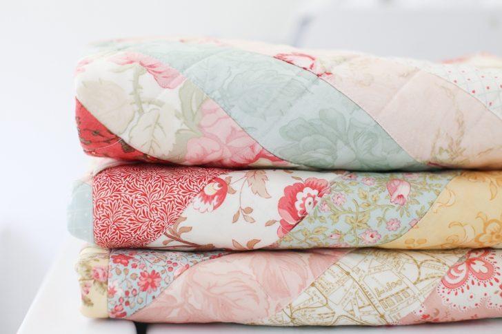 Permalink to Modern Vintage Floral Quilt Inspirations