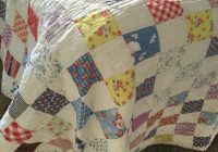 vintage patchwork quilt twin size easy way to make a tshirt Stylish Vintage Patchwork Quilts For Sale