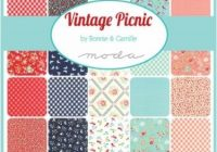 vintage picnic quilt kit 400000000000 Modern Vintage Picnic Quilt Gallery