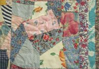 vintage quilt top hand stitched crazy quilt patchwork in Hand Sewn Quilt Patterns