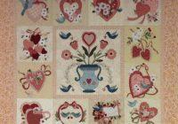 vintage valentine block of the month 72 x 72 Unique Vintage Valentine Quilt Gallery