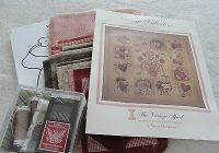 vintage valentine block of the month applique quilt kit Cool Vintage Valentine Quilt Kit Gallery