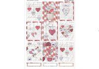 vintage valentine weekly sticker kit planner sticker kit vertical weekly stickers planner sticker kit weekly sticker set Cool Vintage Valentine Quilt Kit Gallery