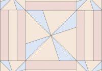 virginia reel quilt block howstuffworks Cozy Virginia Reel Quilt Pattern Gallery