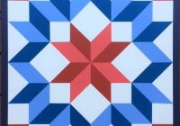 wagon wheel barn quilt in red white and blue Cozy Red White And Blue Quilt Patterns Gallery