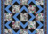 walk about 9 Stylish Quilt Patterns For Large Prints Gallery