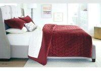 washed velvet quilt hispanavisionct Stylish Threshold Vintage Washed Quilt Inspirations