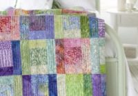 watercolor quilt the easy way in your favorite fabrics Elegant Watercolor Quilts Patterns