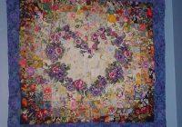 watercolour heart quilt teddybearmargaret quilting Stylish Watercolor Heart Quilt Pattern