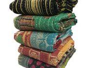wholesale lot of 5 vintage kantha quilts Stylish Vintage Kantha Quilts Wholesale Gallery