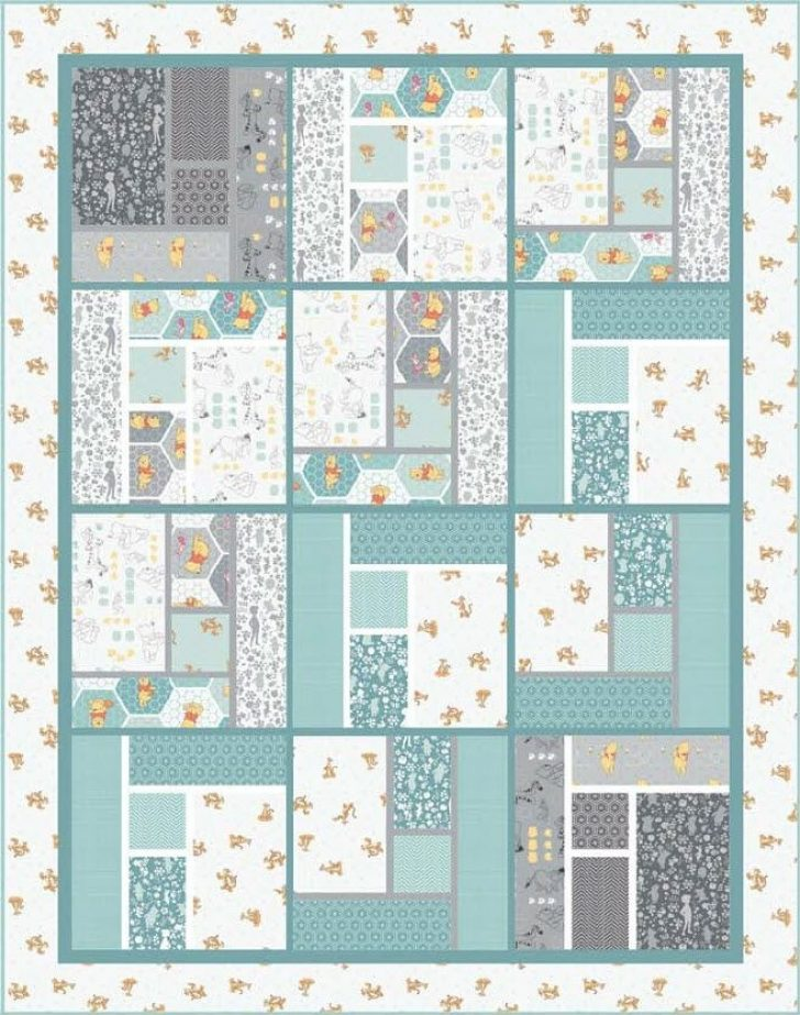 Permalink to Cool Winnie The Pooh Quilt Pattern Inspirations