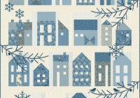 winter village quilt pattern edyta sitar laundry basket quilts lbq 0634 p applique houses quilt pattern Modern Laundry Basket Quilts Patterns
