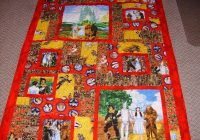 wizard of oz quilt crafts quilting projects landscape Unique Wizard Of Oz Quilt Pattern Inspirations